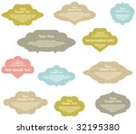 set of design elements | Shutterstock .eps vector #32195380