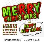 creative green red high detail... | Shutterstock .eps vector #321954116
