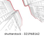 abstract architecture... | Shutterstock .eps vector #321968162