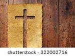 concept or conceptual christian ... | Shutterstock . vector #322002716