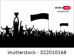 champions cup. poster | Shutterstock .eps vector #322010168