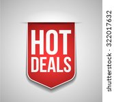 hot deals | Shutterstock .eps vector #322017632