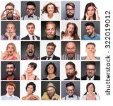 diverse people with different... | Shutterstock . vector #322019012