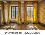 Windows With Yellow Curtains I...