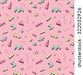 Seamless Pattern In Bright...