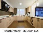 interior design  modern big... | Shutterstock . vector #322034165