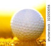 golf course   Shutterstock . vector #322053056