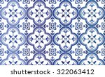 traditional ornate portuguese... | Shutterstock .eps vector #322063412