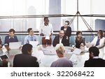 business people corporate... | Shutterstock . vector #322068422