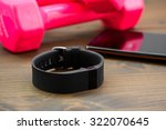 wearable device  wirst watch... | Shutterstock . vector #322070645