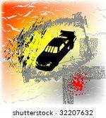 grunge vector background | Shutterstock .eps vector #32207632