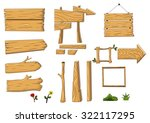 Collection Of Wooden Sign And...