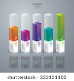 infographic design template can ... | Shutterstock .eps vector #322121102