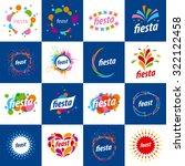 large set of vector logos for... | Shutterstock .eps vector #322122458