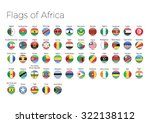 circle flags of the world....   Shutterstock .eps vector #322138112