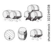 Logo Wooden Barrels For Storage ...