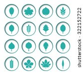 vector illustration  set of... | Shutterstock .eps vector #322152722