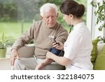 image of young medic taking... | Shutterstock . vector #322184075