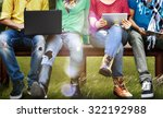 students education social media ... | Shutterstock . vector #322192988