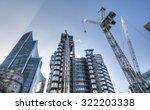 Modern architecture background - stock photo