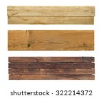 wooden signs collection... | Shutterstock . vector #322214372