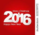 happy new year 2016 creative...