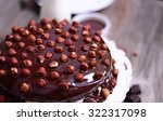 Hazelnut Chocolate Cake Macro...