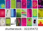 various type of business card... | Shutterstock .eps vector #32235472