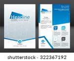 business brochure template.... | Shutterstock .eps vector #322367192