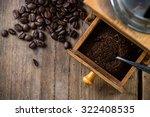 Vintage Coffee Grinder And...