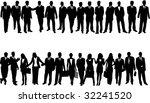 illustration of business people | Shutterstock .eps vector #32241520