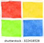 four color background | Shutterstock . vector #322418528