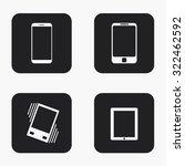 vector modern gadget icons set...