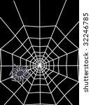 abstract spider with white... | Shutterstock .eps vector #32246785