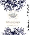 vintage delicate invitation... | Shutterstock .eps vector #322505672