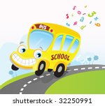 Yellow School Bus. School Bus...
