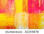 abstract background drawn by... | Shutterstock . vector #32255878