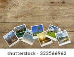 snapshots of travel... | Shutterstock . vector #322566962