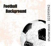 football soccer background... | Shutterstock . vector #322595942