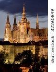 Prague Castle At Night. Some...