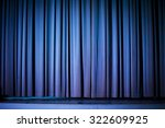 theater background | Shutterstock . vector #322609925