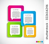 infographic templates for... | Shutterstock .eps vector #322616246