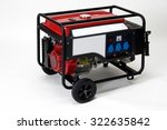 isolated portable electric... | Shutterstock . vector #322635842