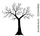 tree isolated | Shutterstock .eps vector #322644866