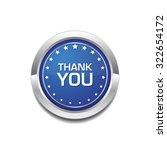 thank you glossy shiny circular ... | Shutterstock .eps vector #322654172