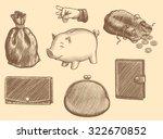 Wallets And Piggy Banks. Design ...