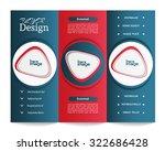 tri fold brochure template | Shutterstock .eps vector #322686428