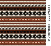 tribal  seamless pattern design   Shutterstock .eps vector #322696856