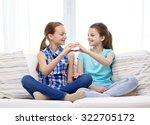 people  children  friends and... | Shutterstock . vector #322705172