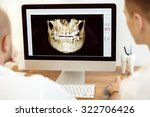 dentists and assistant... | Shutterstock . vector #322706426